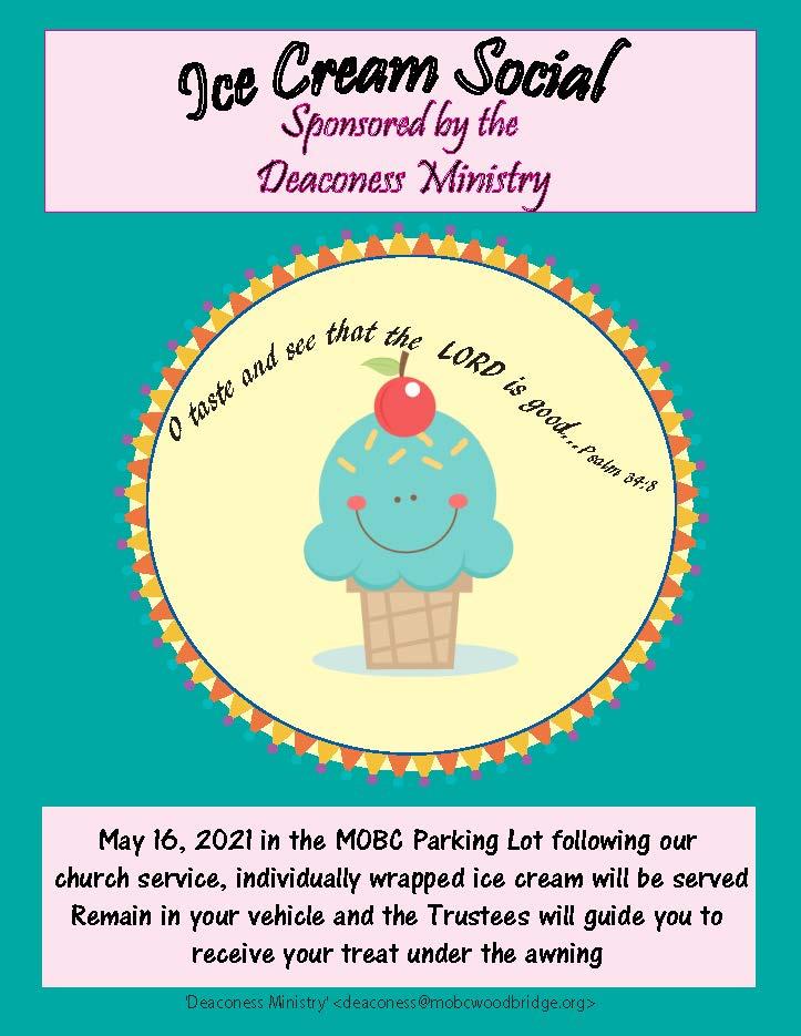 Ice Cream Social @ MOBC Woodbridge