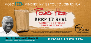 Teen Ministry Power Hour